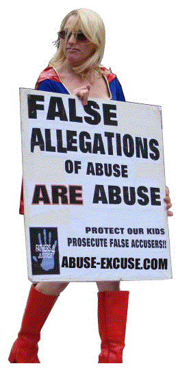 Prosecute false accusers.