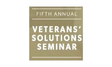 Attend one of three Veterans' Solutions Seminars