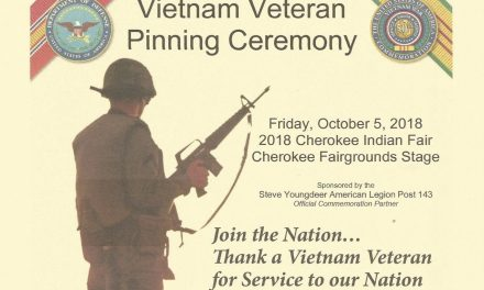 Vietnam Veteran Pinning Ceremony – October 5, 2018