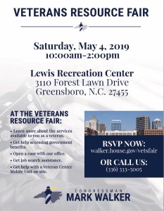 Veterans Resource Fair @ Lewis Recreation Center | Greensboro | North Carolina | United States