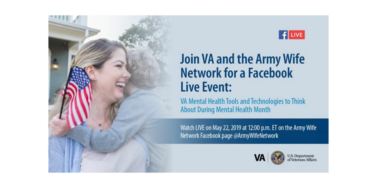 Facebook live event with the VA and the Army Wife Network
