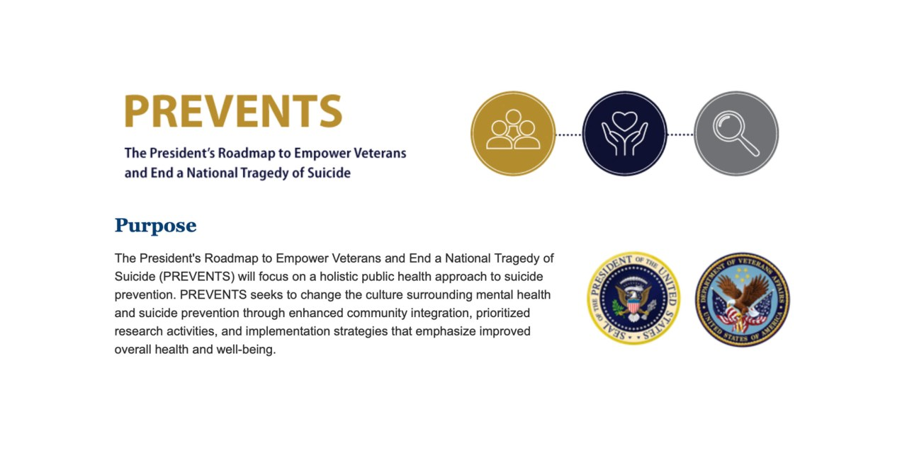 VA Announces Release of Nationwide Plan for Ending Suicide