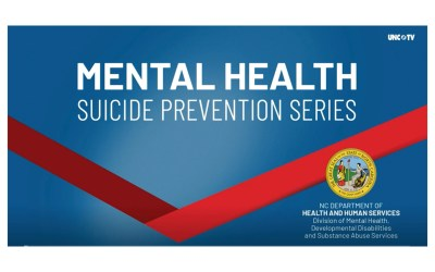 Suicide Prevention Virtual Town Hall Series Kickoff
