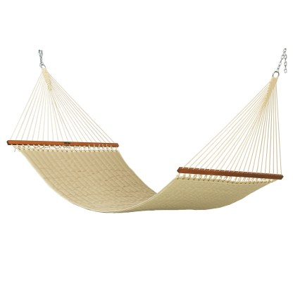 Spectrum Sand Large Quilted Hammock