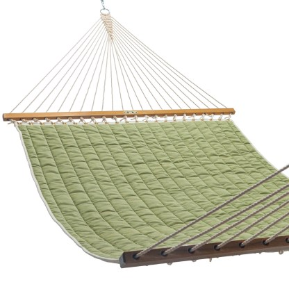 Quilted Hammock - Cast Moss - QGN07