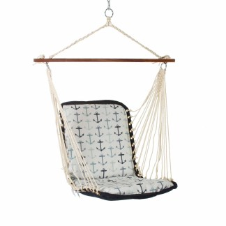 Cushioned Single Swing - Anchor Arbor Blue - SANCHOR