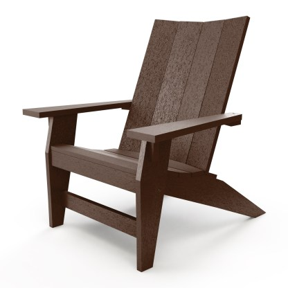 Hatteras Adirondack Chair - Chocolate - HHAC1-K-CHO