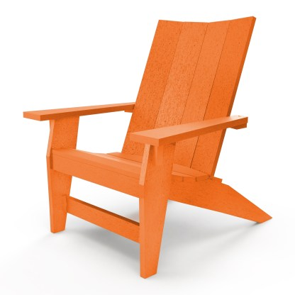 Hatteras Adirondack Chair - Orange - HHAC1-K-OR
