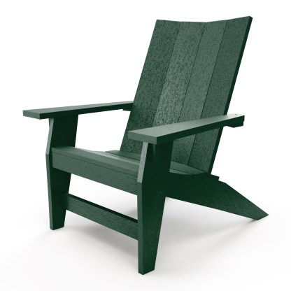 Hatteras Adirondack Chair - Forest Green - HHAC1-K-FG