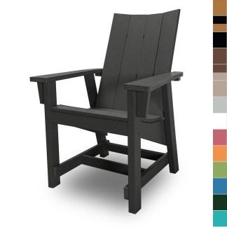 Hatteras Conversation Chair - multicolor block