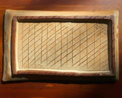 hand built tray