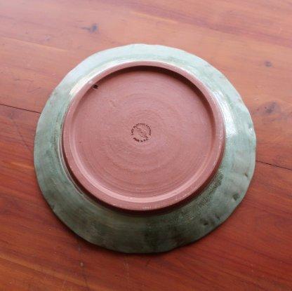 verdigris plate