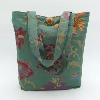 silk brocade handbag