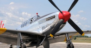 Legendary American fighter plane from World War II P-51 Mustang