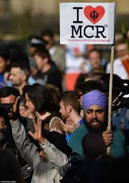 Manchester Community shows unity following attack