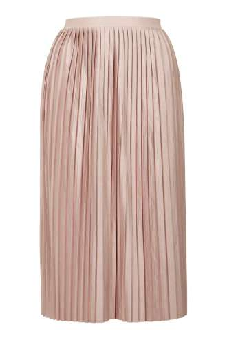 The centrepiece- bang on trend, pale pink and pleated