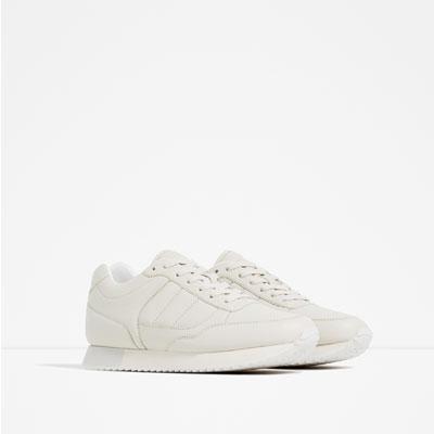 WHITE SNEAKERS ZARA S:S 16