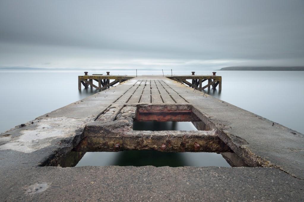 Portencross Pier by Fiona Thomson