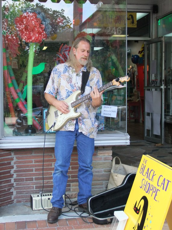Randy Moore at Black Cat for Saturday Store Front Music