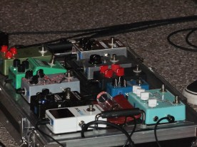 with lots of Pedals