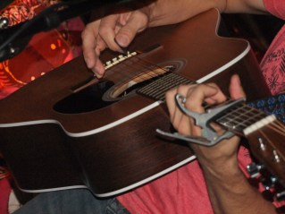 and his guitar