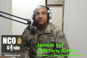 Epi 19, Interview with CSM Terry Burton, USACRC CSM