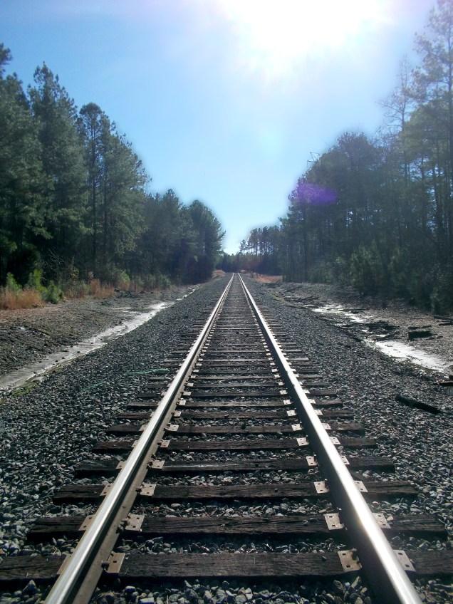 Track in the Horizon
