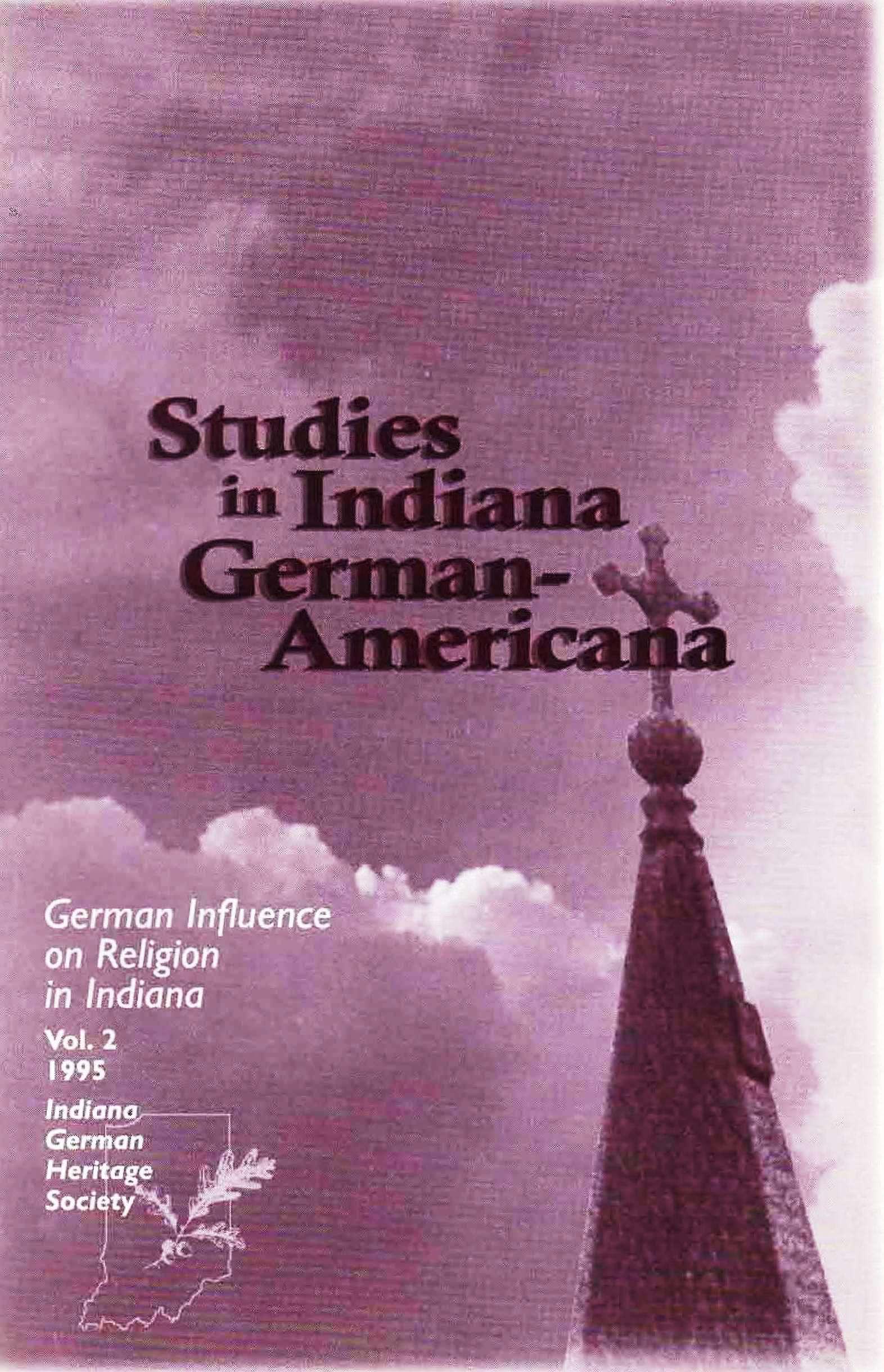 Studies in German-Americana, Vol. 2