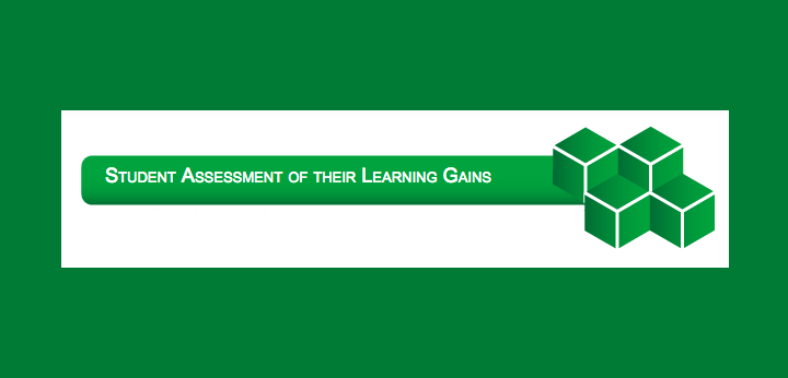 Student Assessment of Their Learning Gains