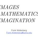 Images, Mathematics, Imagination