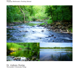 Teaching Manual for General Education Mathematics with Watershed Data