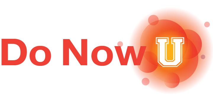Do Now U Logo. Photo credit: KQED