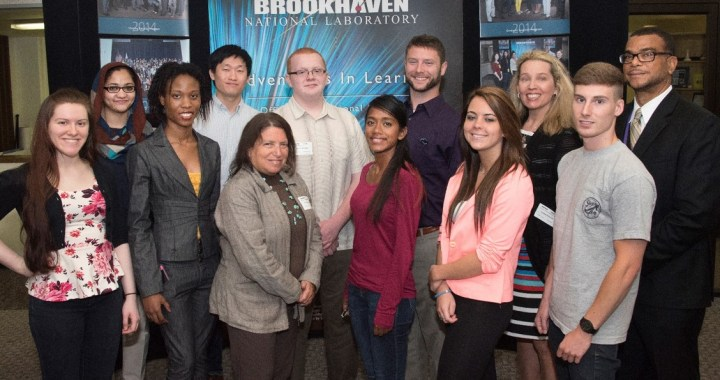Suffolk County Community College NSF S-STEM and DOE Research Scholars at Brookhaven National Laboratory Closing Ceremony