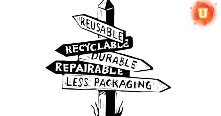"""Is It More Important to You to Reduce, Reuse, or Recycle?"" Photo credit: California Department of Resources Recycling and Recovery (CalRecycle)"