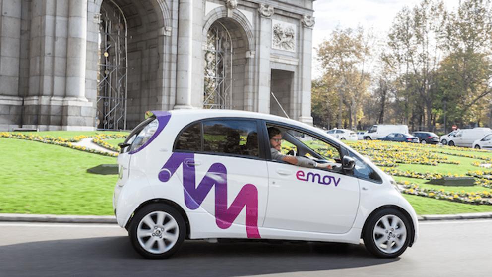 EMov – coche compartido en Madrid
