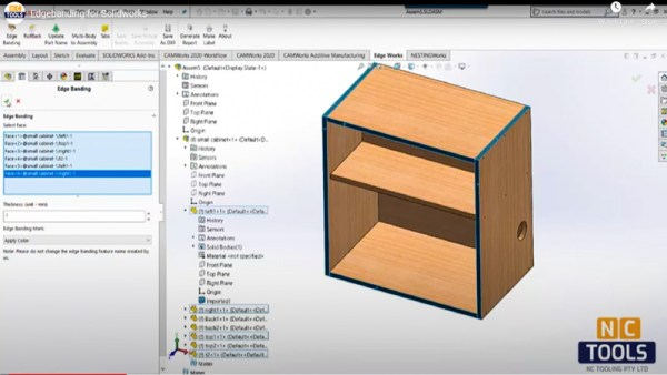 EDGEWorks Solidworks Add-on