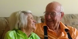 In-laws Betty & Rusk Henry In their 90's