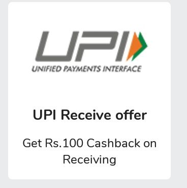 (Loot) Mobikwik - Get Rs.100 Cashback On Receiving Money Via UPI