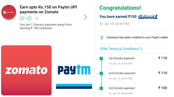(Loot) Zomato Offer - Order Food Worth Rs.600 In Just Rs.150 (Loot Lo)