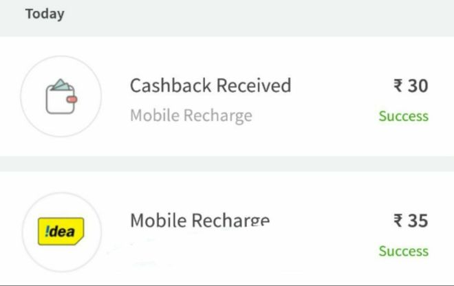 Freecharge - Get Free Recharge Of Rs.30 For All User | Free Recharge Offer