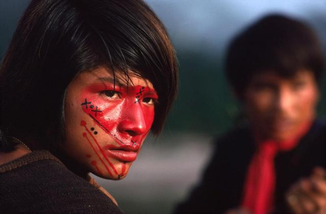 A tribo desconhecida do Peru
