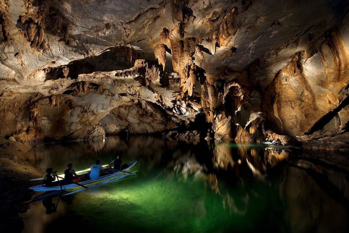 Rio subterrâneo de Puerto Princesa