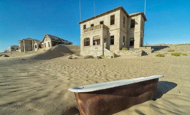 Kolmanskop, Deserto da Namíbia