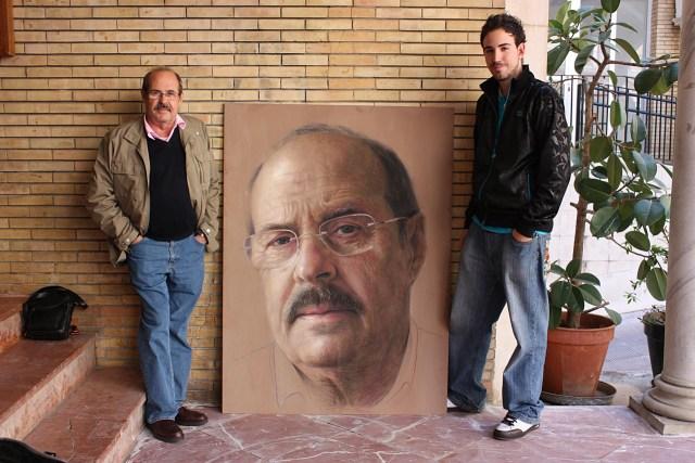 O modelo e o pintor