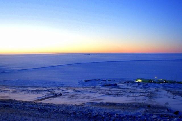 Pegasus, McMurdo Sound, Antártica