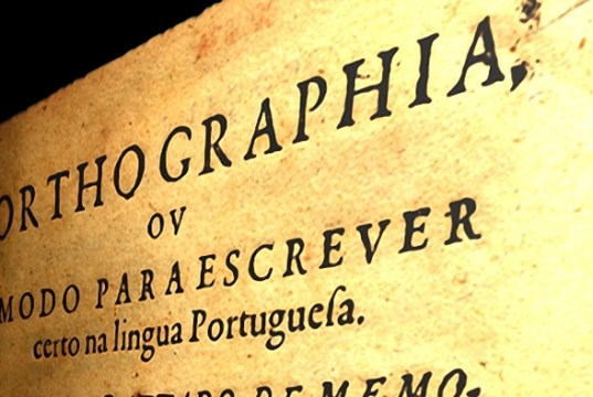 Ortographia escripta: como se escrevia antes do Acordo Ortográfico de 1911