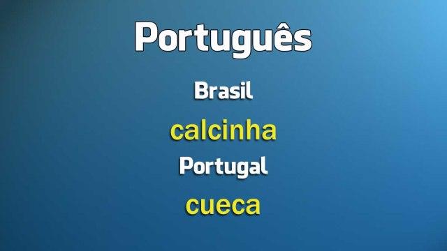 Portugal e Brasil: 30 palavras diferentes com o mesmo significado