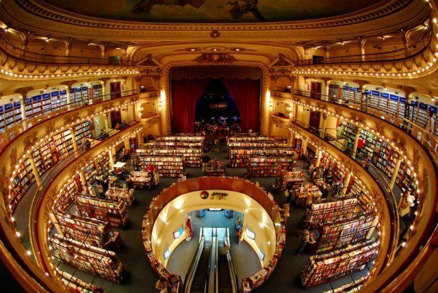 Biblioteca El Ateneo, Argentina