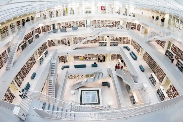 Biblioteca de Stuttgart, Alemanha