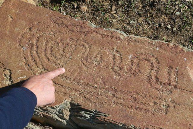 Descoberta mais arte rupestre no Guadiana